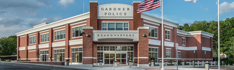 Gardner Police Station by L. D. Russo